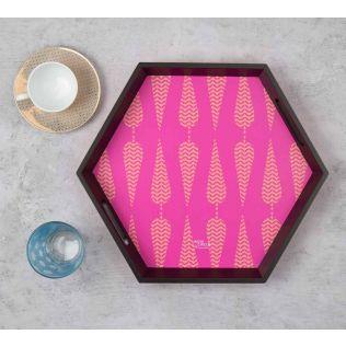Conifer Spades Hexagon Tray