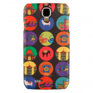 India Vibrant Samsung S4 Cover