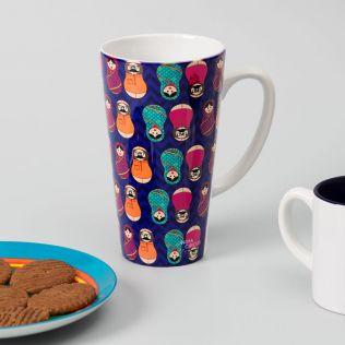 Desi Matryoshka Dolls Conical Mug