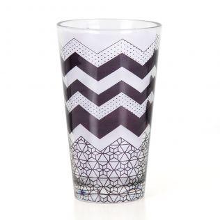 Monochrome Moonshine Glass Tumbler