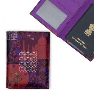 Violet Fusion Passport Cover