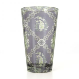 Feathers of Twilight Glass Tumbler