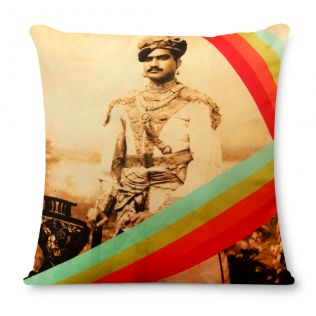 Emperor's Court Poly Silk Cushion Cover