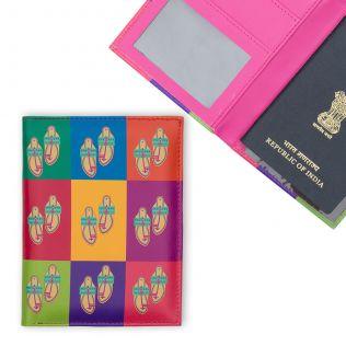 Toe-tal Funk Passport Cover