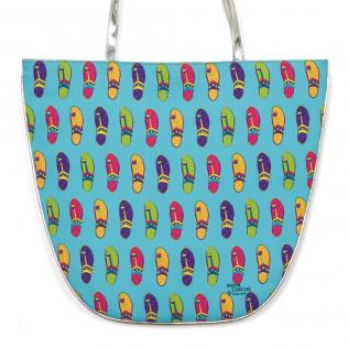 Stunning Slippers Oval Jhola Bag