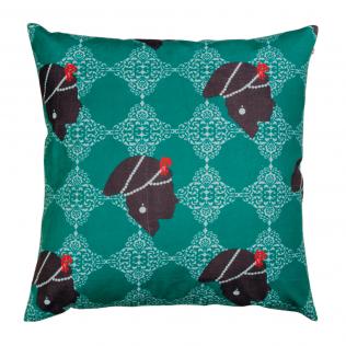 Ruby Empress Floor Cushion Cover