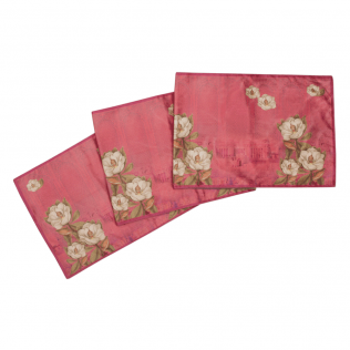Shadow Red Kingdom Table Runner