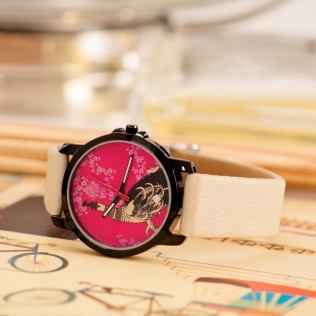 Peacock Love Women Wrist Watch