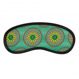 Circles in Circles Eye Mask