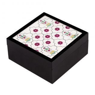 Flowers and Ferns Medium Storage Box