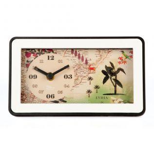 Wanderlust Table Clock