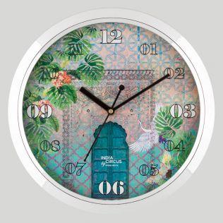 Mysterious Doorway Wall Clock