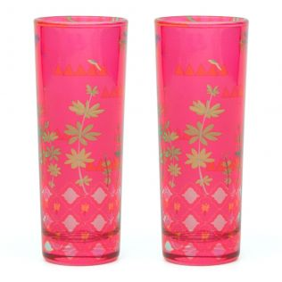 Geometric Paradise Shot Glasses (Set of 2)