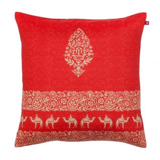 Heirlooms Poly Taf Silk Cushion Cover