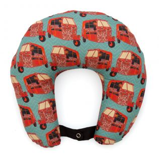 Funk on Road Neck Pillow