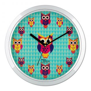 Disco Hedwig Wall Clock