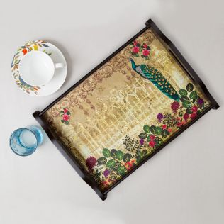 Song of the Peacock Tray