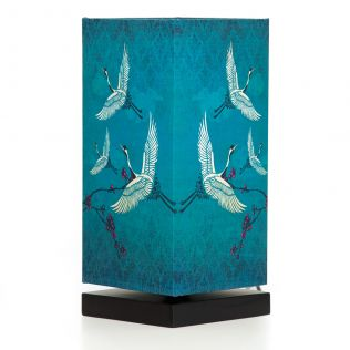 Legend of the Cranes Rectangle Table Lamp
