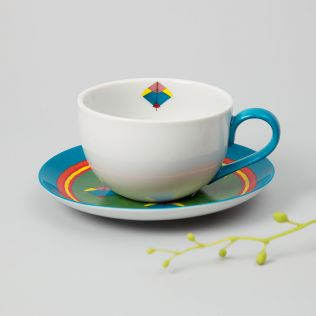 Drops of Purity Cup and Saucer