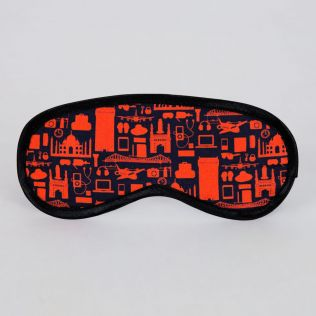Urban Meshes Eye Mask