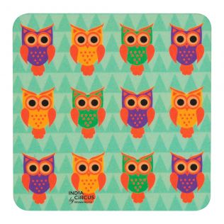 Disco Hedwig PVC Coaster - (Set of 6)