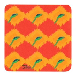 Joy de Vivre PVC Coaster - (Set of 6)