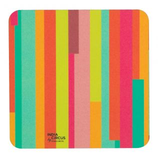 Life is a Blur PVC Coaster - (Set of 6)