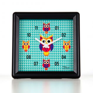 Disco Hedwig Table Clock