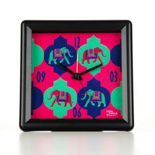 Tusker Treat Table Clock