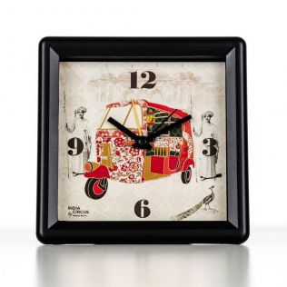 Auto Tripping Mason Table Clock