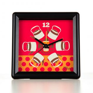 Kadak Chai Table Clock