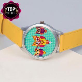 Disco Hedwig Unisex Wrist Watch