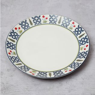 Flowers and Ferns Dinner Plate