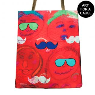 Potrait of Desire Gateway Jhola Bag