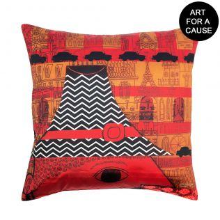 Raging Rouge Gateway Blended Taf Slik Cushion Cover