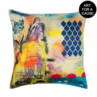 Ocean of Embers Gateway Blended Taf Slik Cushion Cover