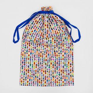 Opalescent Aura Drawstring Bag