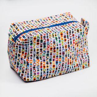 Opalescent Aura Toiletry Bag
