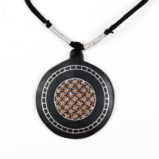 High Bidri Charm Necklace