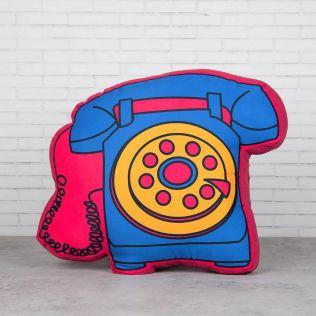 Tele Symphony Shaped Cushion