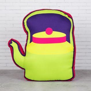 Kettle Mettle Shaped Cushion