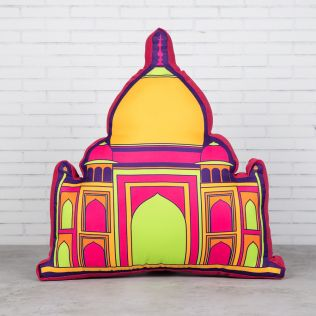 Mumtaz's Taj Shaped Cushion