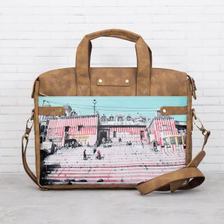 Charm of Chaos Briefcase Bag