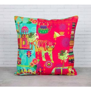 Bengal Bedlam Canvas Blend Cushion Cover