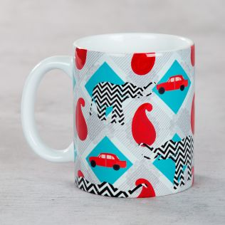 Bombay Paisley Mug