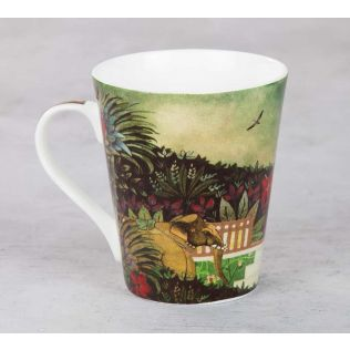 Floors of Flourish Bone China Mug