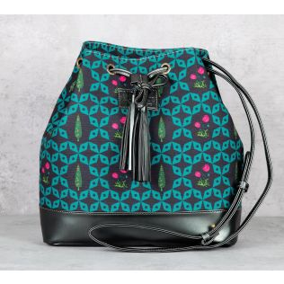 Flowers and Ferns Hobo Bag