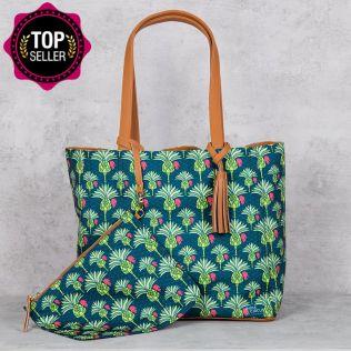 Palmeira Reiteration Reversible Bag