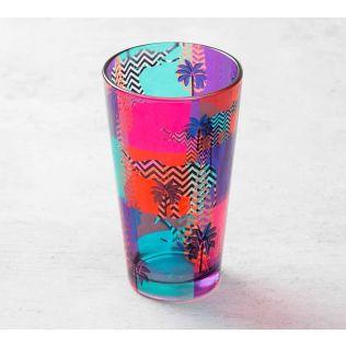 Putative Insignia Glass Tumbler