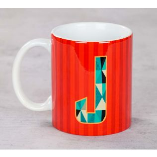 Striped Jaunty Coffee Mug